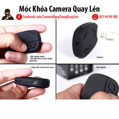 Móc Khóa Camera Quay Lén