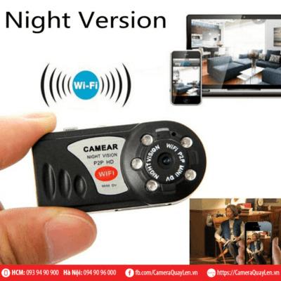 camera q7 ip wifi quay đêm