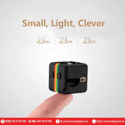 camera cube siêu nhỏ full hd 1080p, hỗ trợ tốt quay ban đêm. Camera tự quay khi có người chuyển động