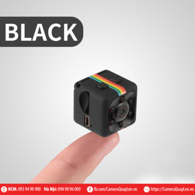 Cube Camera Siêu Nhỏ Night Vision FHD