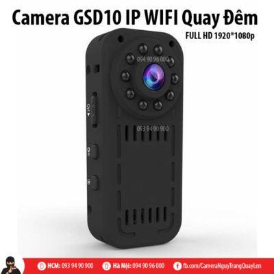 camera gsd10 quay đêm