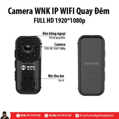 camera wnk quay đêm
