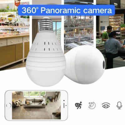 camera bóng đèn 360