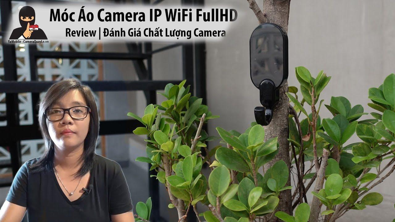 camera ngụy trang móc áo dán tường