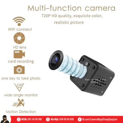 Cube camera ip wifi quay đêm
