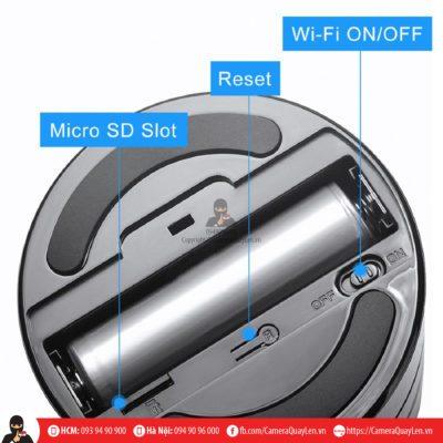 camera ngụy trang loa bluetooth ip wifi