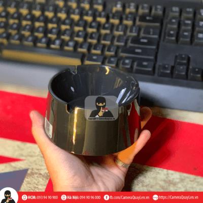 camera ngụy trang gạt tàn thuốc