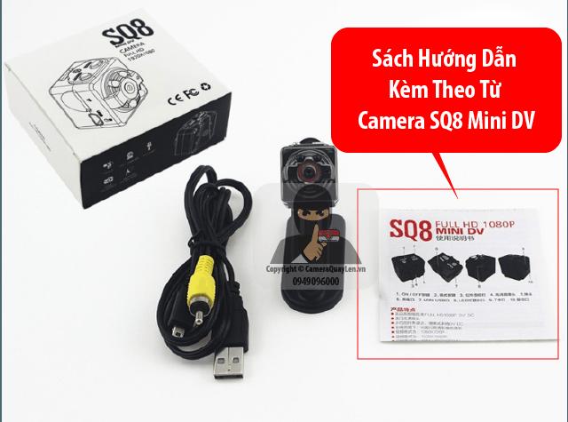 Tờ hướng dẫn sử dụng camera SQ8 của nơi bán được chăm chút dịch ra tiếng việt