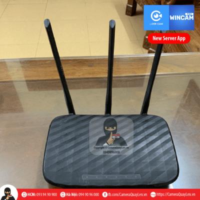 camera router bộ phát wifi ngụy trang