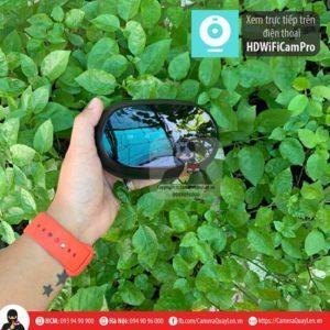 Camera ngụy trang loa bluetooth cảm ứng