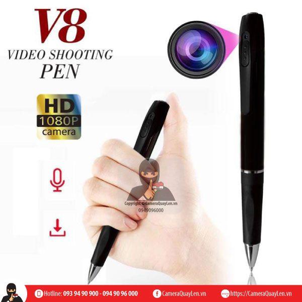 Camera quay là gì là ngụy trang thành bút viết
