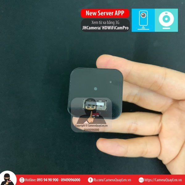 Camera quay lén Mini cốc sạc iphone ngụy trang