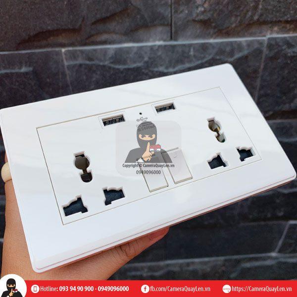 camera ngụy trang Mini ổ cắm điện âm tường